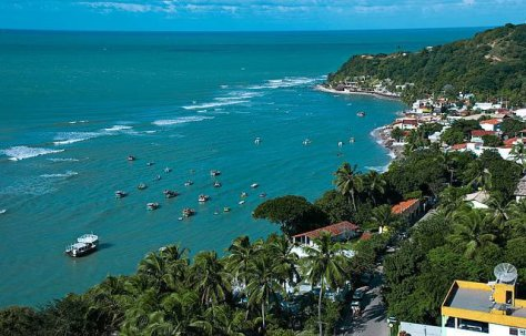 praia da pipa rn brasil