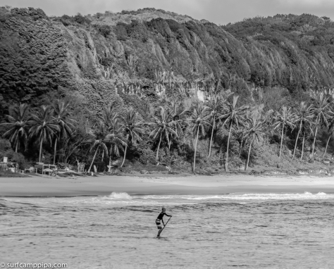 praia do madeiro stand up paddle