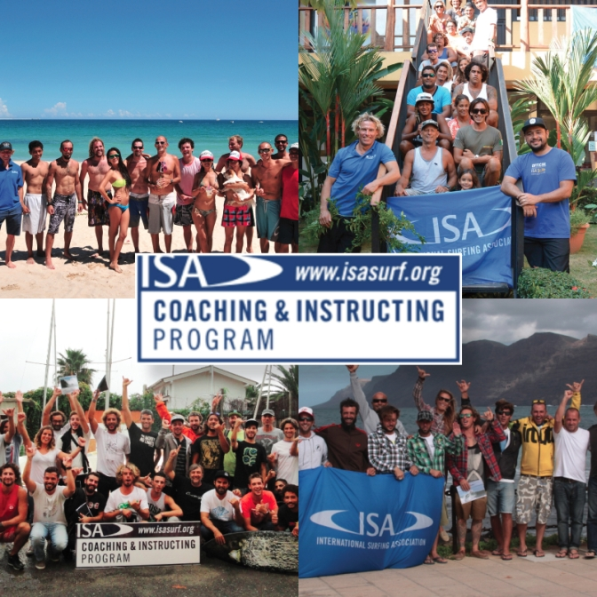 CURSO ISA SUP INTERNACIONAL PARA INSTRUTORES  ( International Surfing Association )